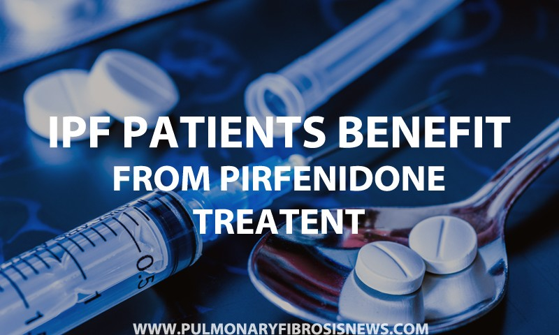 IPF Patients Benefit from Pirfenidone Treatment