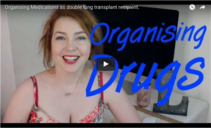 Double Lung Transplant: Organising Your Medications