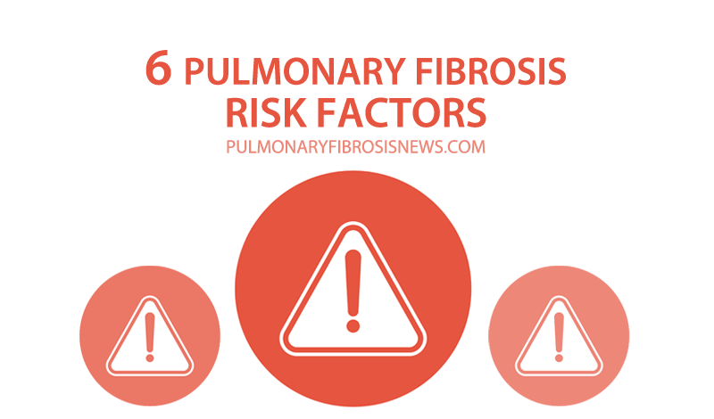 6 pulmonary fibrosis risk factors