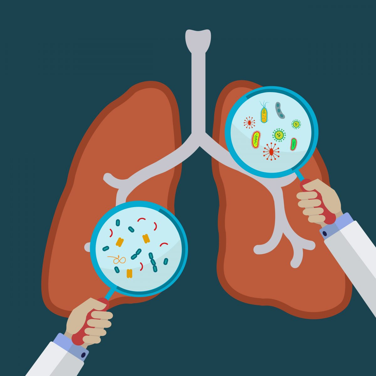 chronic lung infections