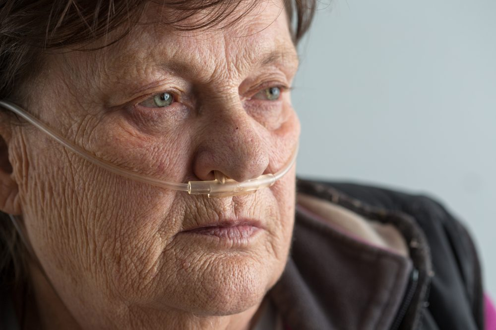Pulmonary Fibrosis and Portable Oxygen Tanks for Use Outside