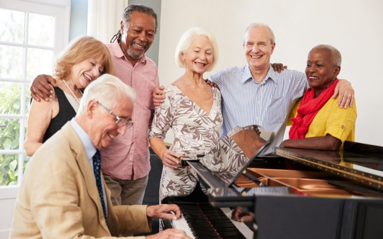 Lung disease singing group