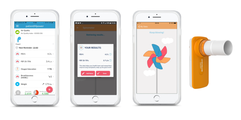Digital Health Company patientMpower Launches New Lung Transplant App
