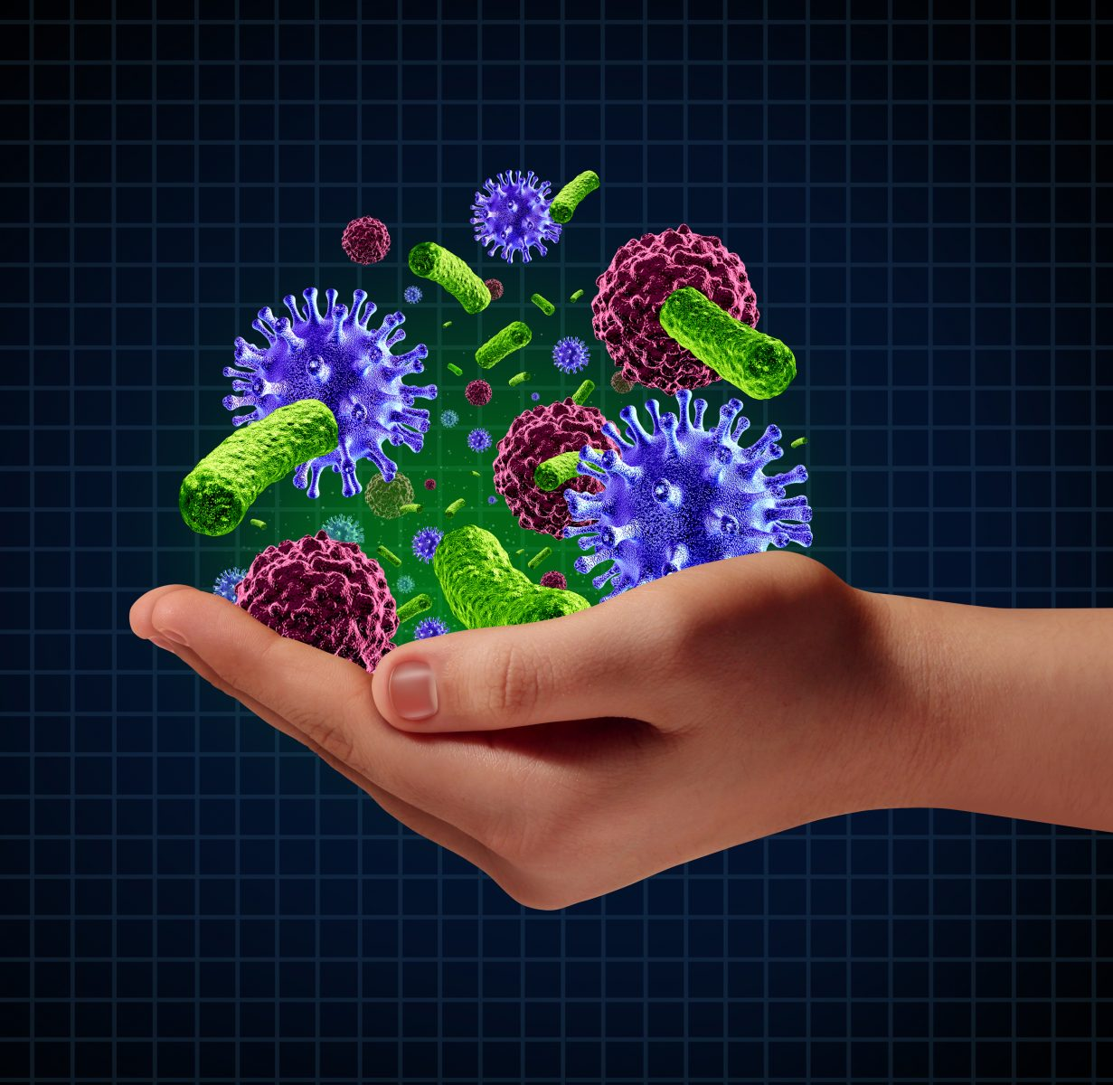 germs and IPF
