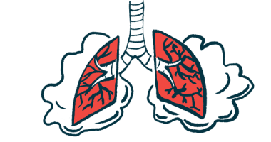 PLN-74809 engages intended lung target/Pulmonary Fibrosis News/lungs illustration